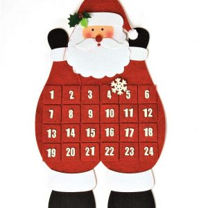 Santa Christmas advent calendar