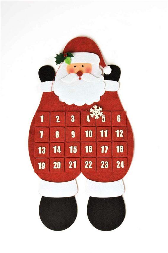 Santa Christmas advent calendar