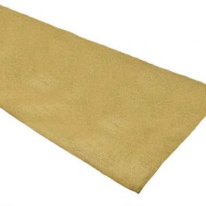 Gold Glitterazzi table runner in a 33 x 183 cm