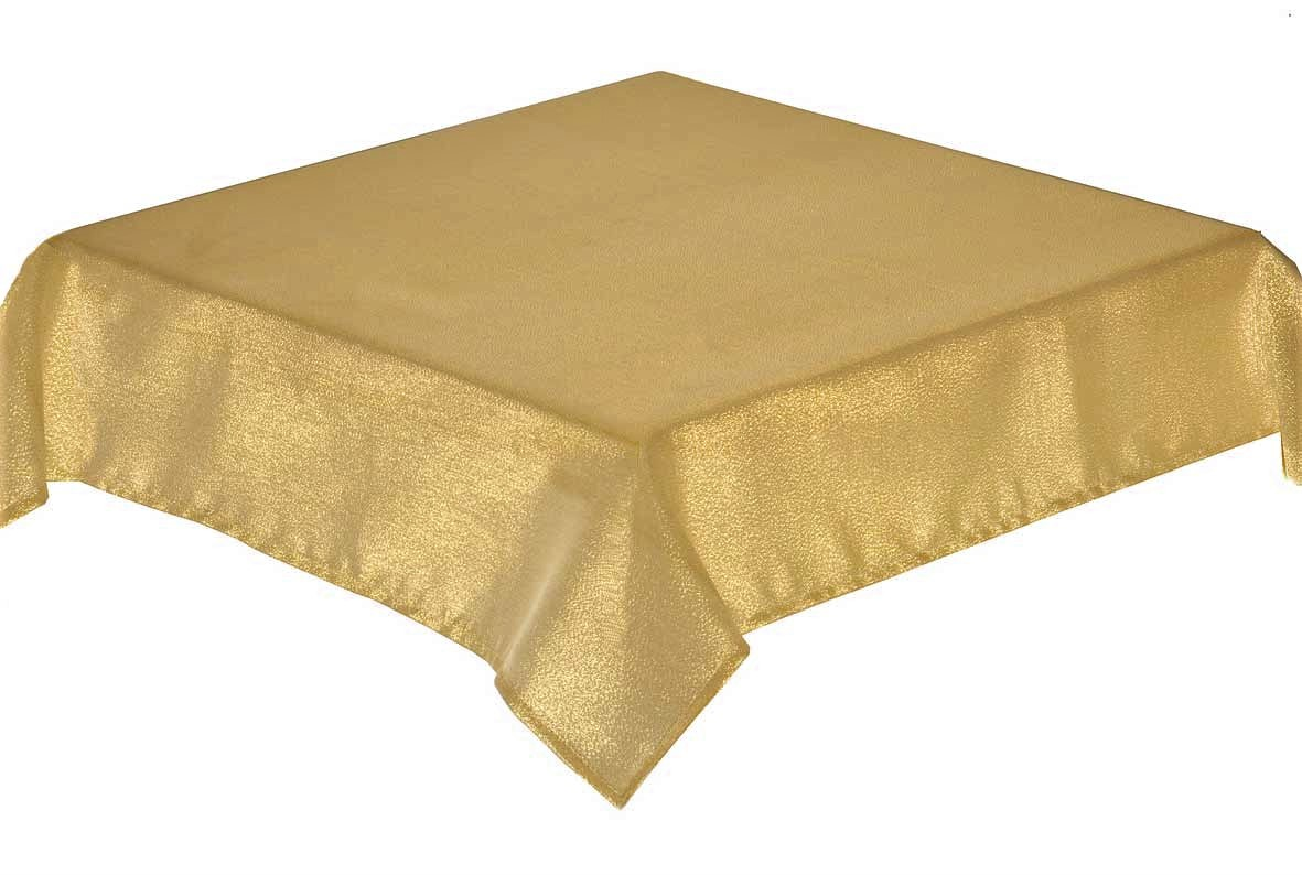 GLITTERAZZI Gold Tablecloth 137x229cm + 8 napkins
