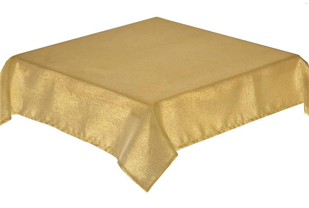 Glitterazzi gold circular tablecloth 172cm