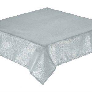 Glitterazzi silver tablecloth 137x178cm oblong + 6 napkins