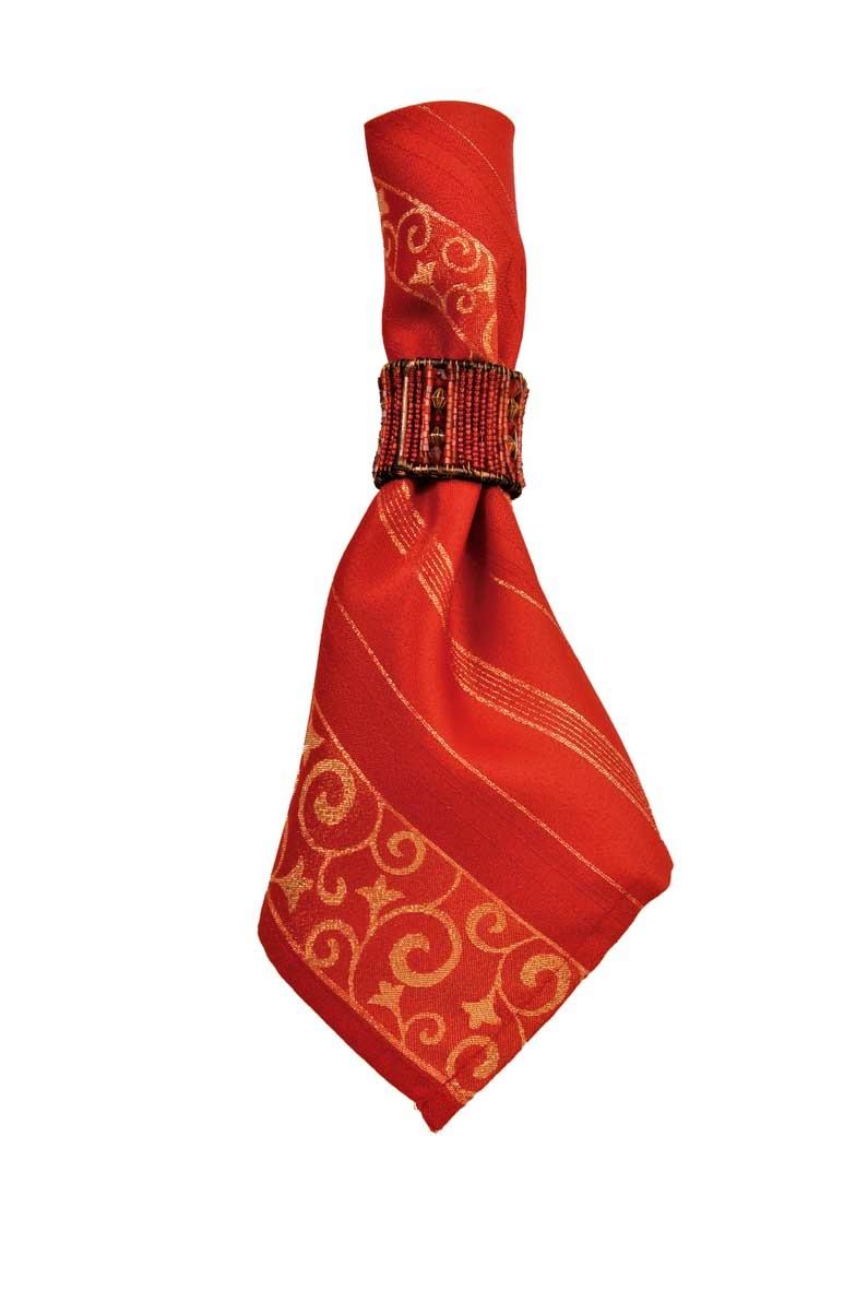 Fab red Christmas napkins