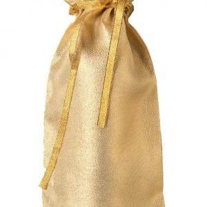 Gold Glitterazzi bottle bags