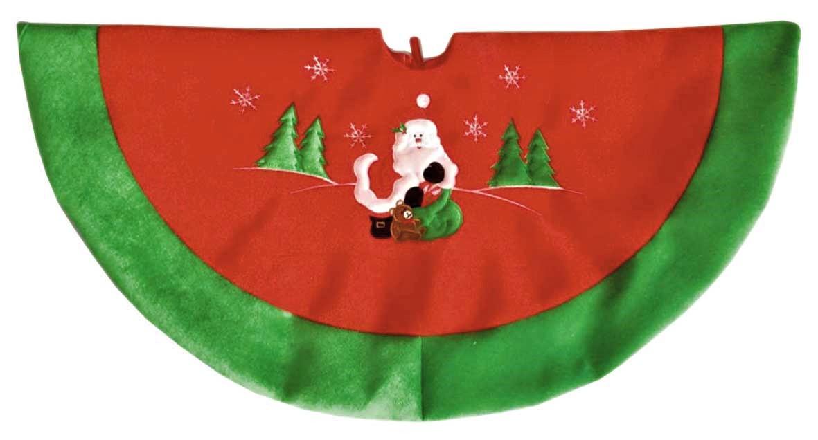 Embroidered Christmas Tree Skirts