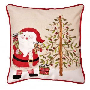 Santa Christmas cushion cover