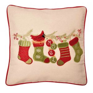 Stockings Christmas cushion cover