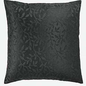 Bowdon black cushion cover