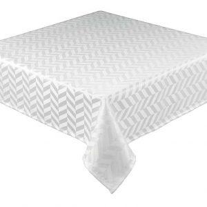 White round jacquard tablecloth