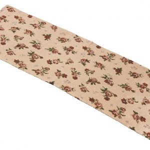 Tapestry rose table runner