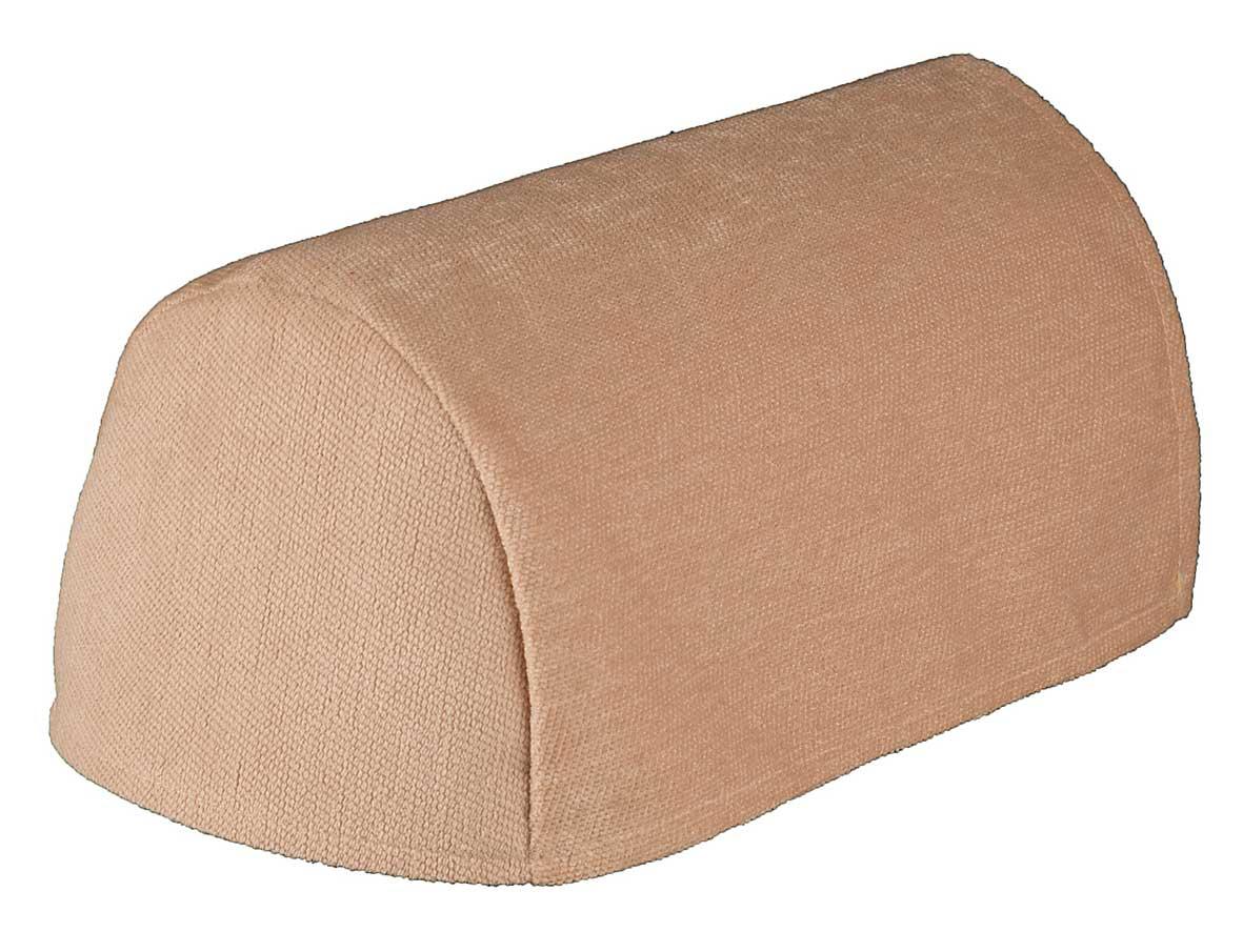 Cream chenille arm covers