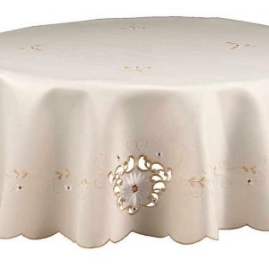 Monica large round tablecloth,