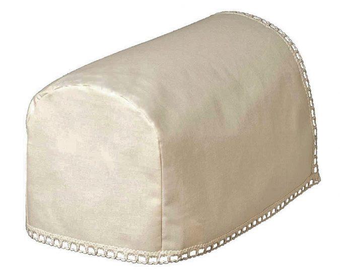 Jane chair arm covers, plain100% cotton