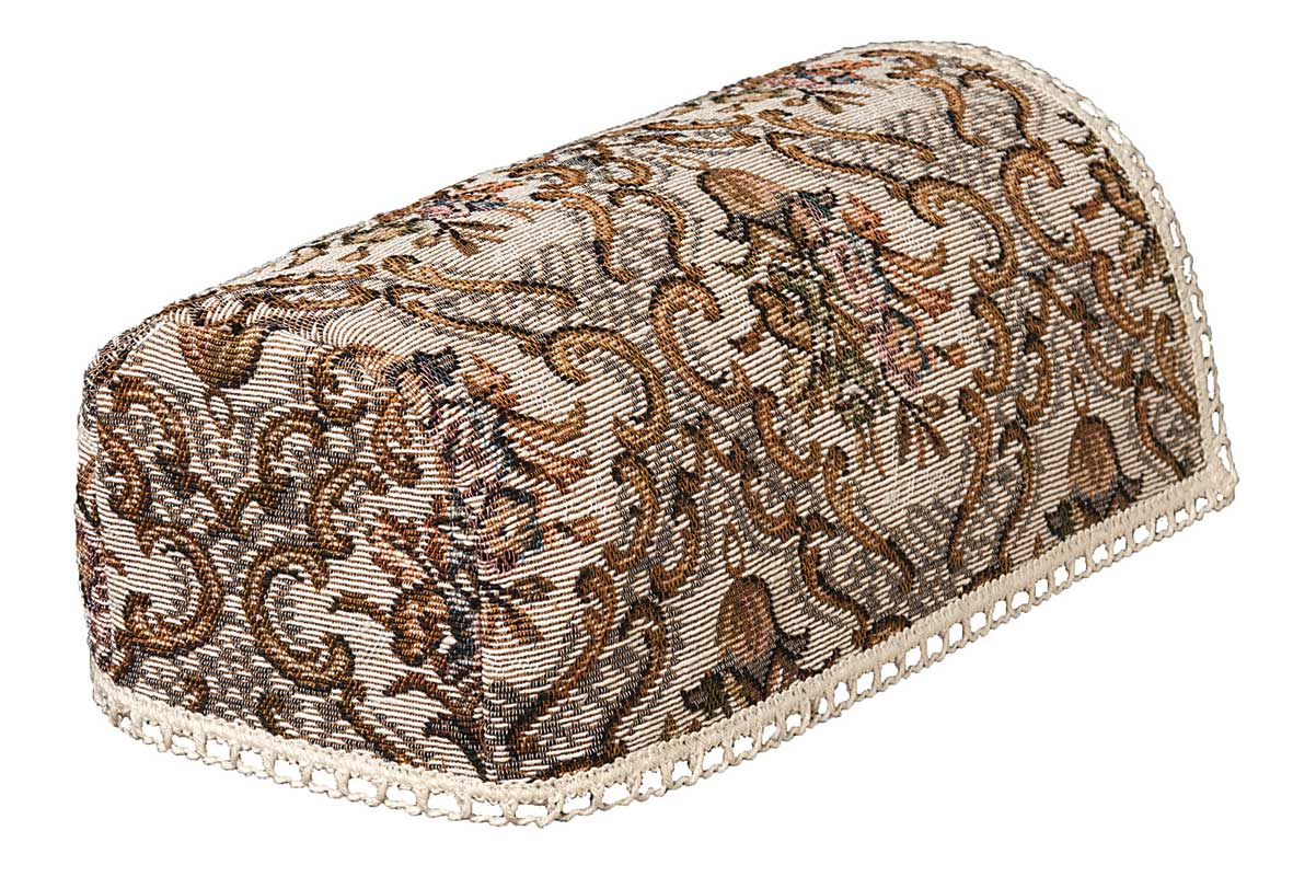 Classic tapestry narrow chair arm covers