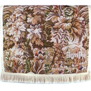 Castle tapestry chair back covers