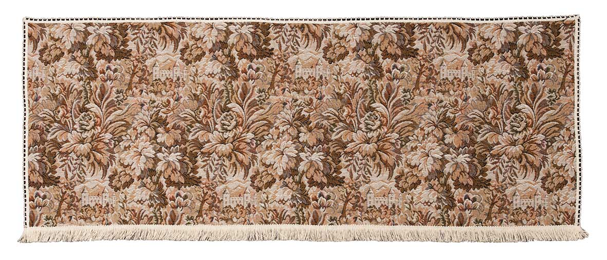 Castle tapestry 2 seater settee back