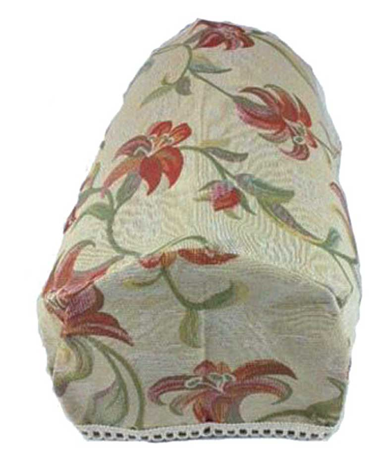 Terracotta Lily Chair Arm Covers