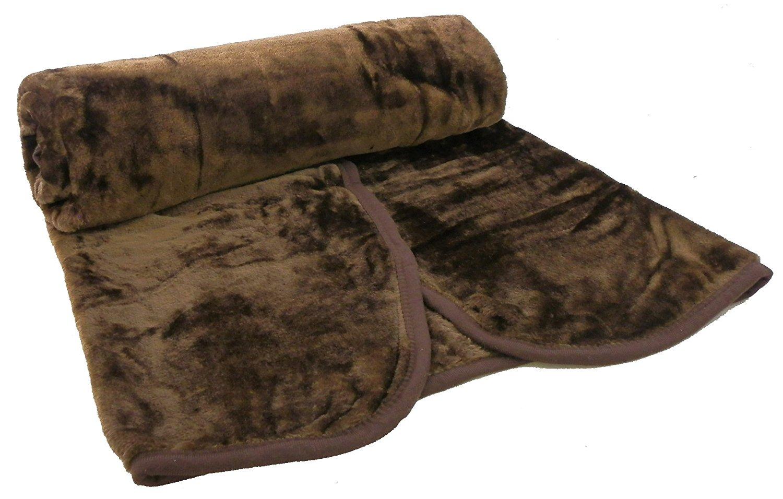 Faux Fur super soft Fleece Blanket Throw sofa bed King Size 200 x 240cm