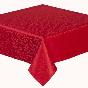 Bowdon red table runner