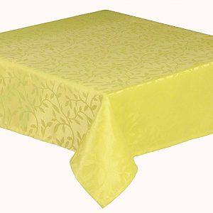 Apple green oblong tablecloth