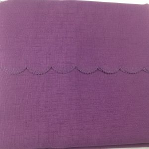 aubergine polyester tablecloth