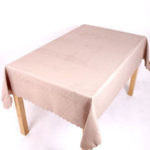 Shell Tablecloth Coffee 137x178cm Oval