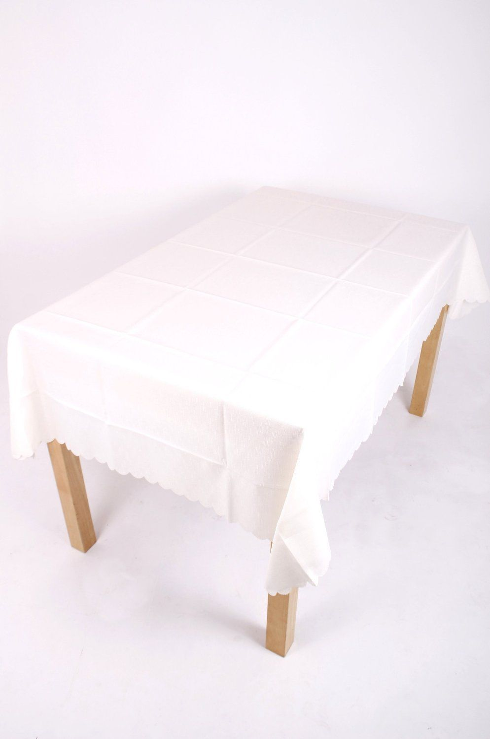 Shell Tablecloth cream 137x229cm Oval