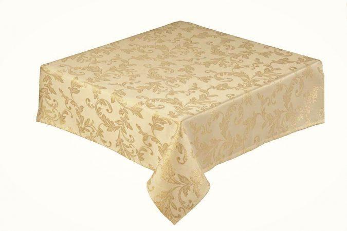 Jacobean gold place mat pack of 2