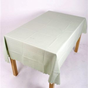 Shell Tablecloth Meadow Green 137x229cm Oval