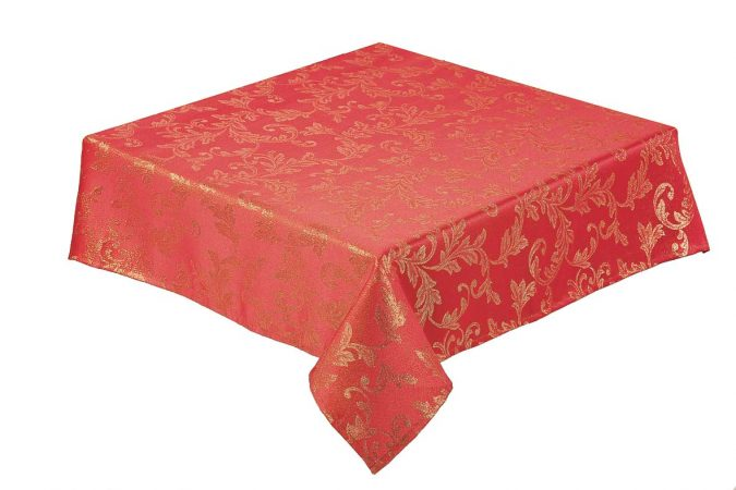 Jacobean red table runner
