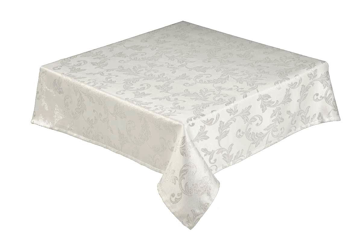 Jacobean Christmas silver tablecloth
