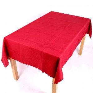 Shell Tablecloth Terracotta 137x229cm Oval