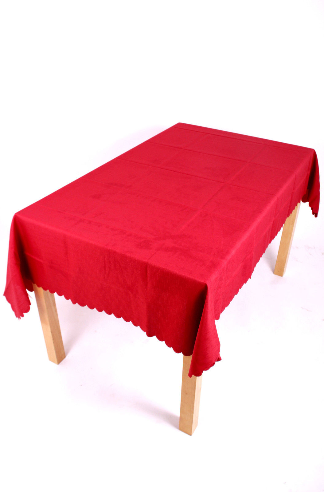 Shell Tablecloth Terracotta 137x229cm Oval