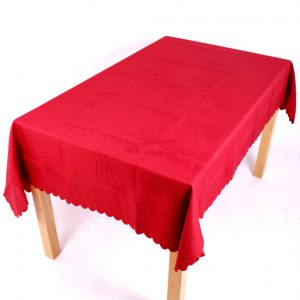 Shell Tablecloth Terracotta 91x91cm