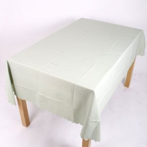 Shell Tablecloth Meadow Green 91x91cm