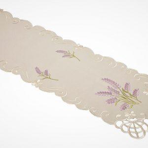 Lavender sprig table runner