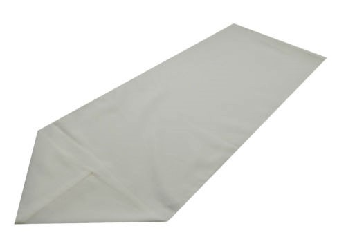 cream polyester table runner