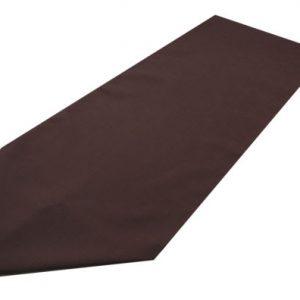 brown polyester table runner