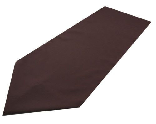 brown polyester table runner