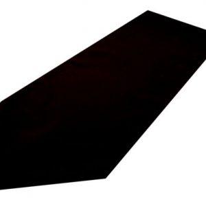 black polyester table runner