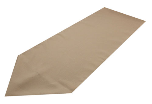 coffee polyester table runner
