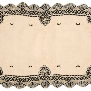 Cluny lace table runner