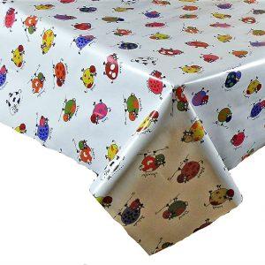 Jolly cows vinyl tablecloth