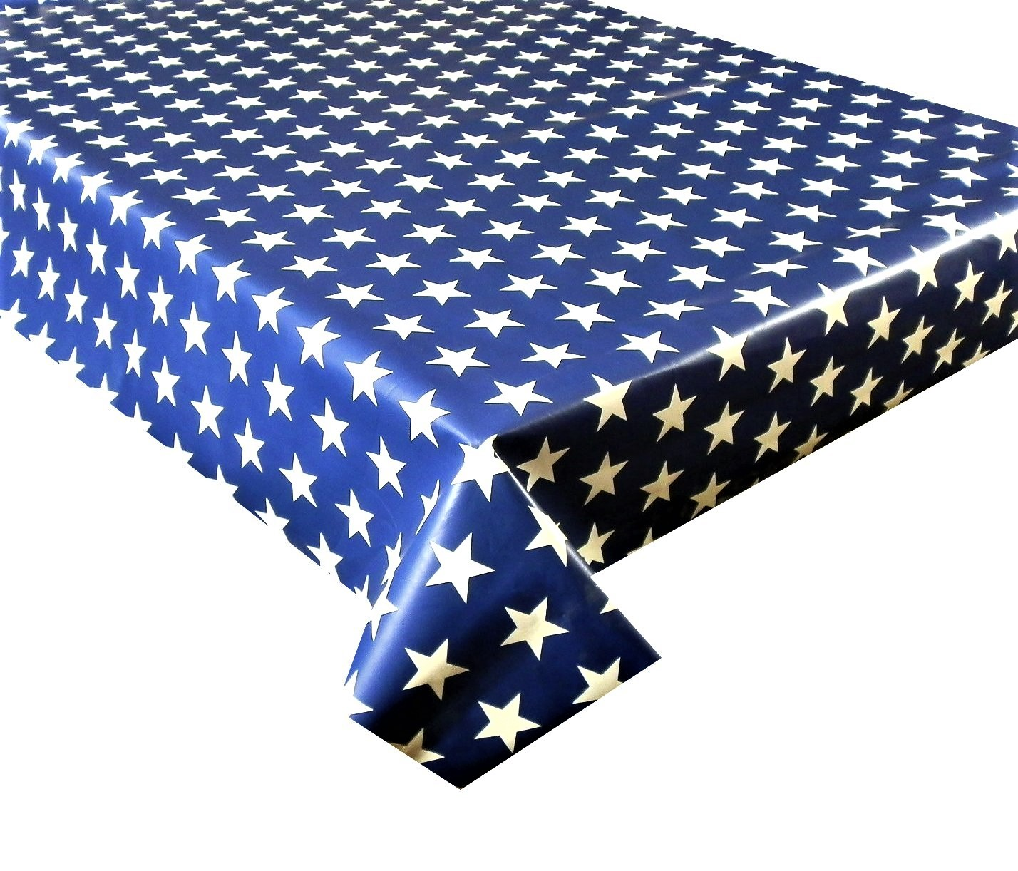 Blue Star 113 Vinyl Tablecloth Textile Backed Pvc