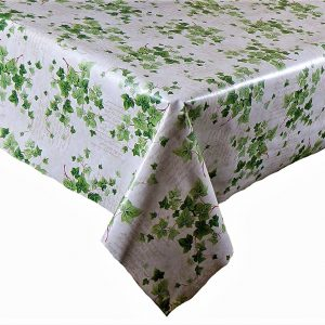 Spring ivy vinyl tablecloth