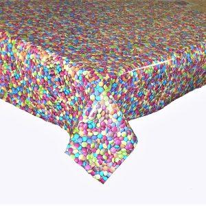 Smarties vinyl tablecloth