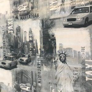 New York vinyl tablecloth