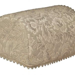 Taupe Matelasse Chair Covers