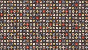 Beer-tops Vinyl Tablecloths