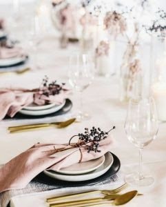 Shell Tablecloth trend